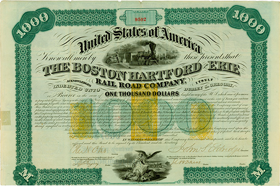 Boston, Hartford and Erie Rail Road Company