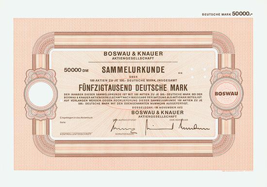 Boswau & Knauer AG