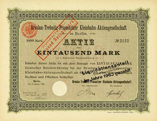 Breslau-Trebnitz-Prausnitzer Kleinbahn-AG