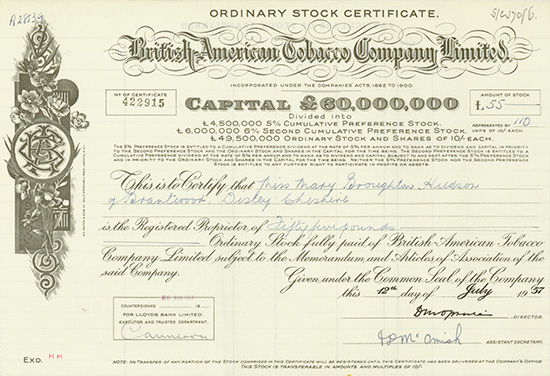 British-American Tobacco Company Limited