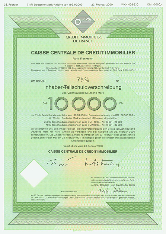 Caisse Centrale de Credit Immobilier