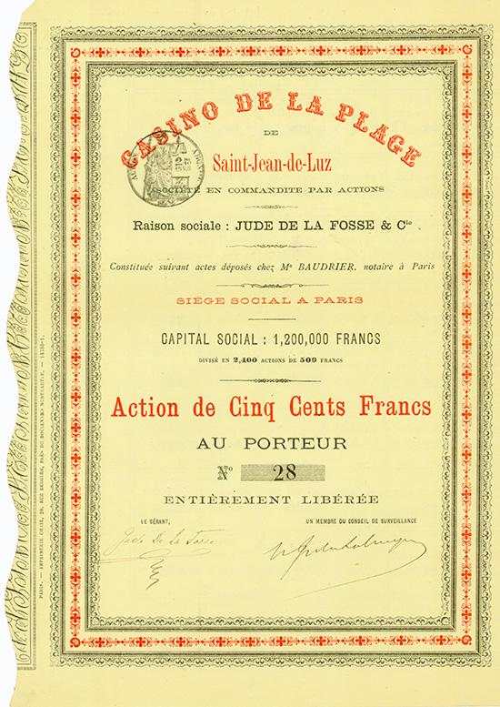 Casino de la Plage de Saint-Jean-de-Luz