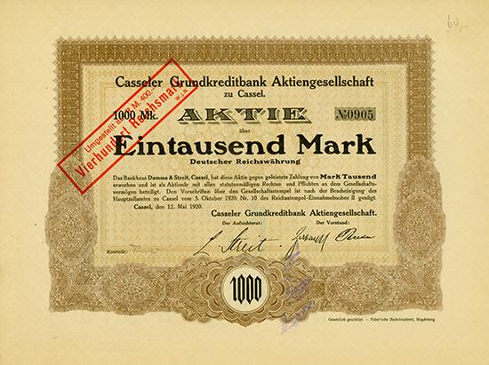Casseler Grundkreditbank AG