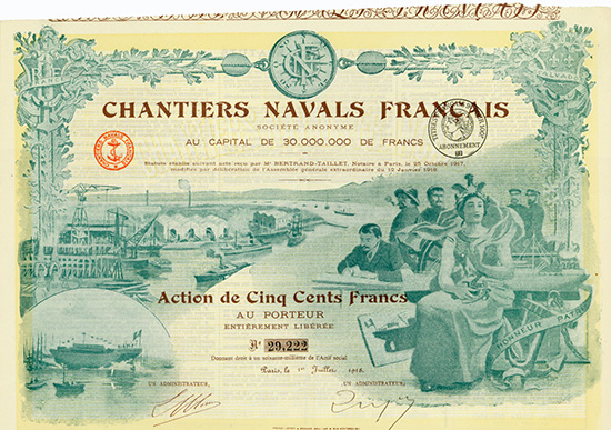 Chantiers Navals Francais S.A.