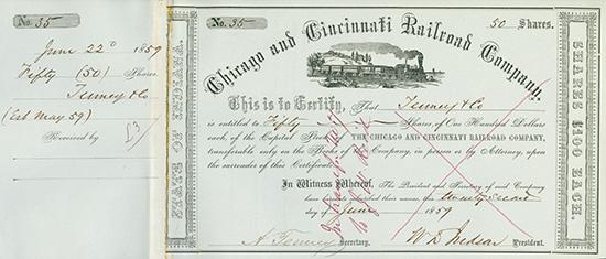 Chicago and Cincinnati Railroad Company