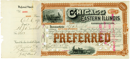 Chicago and Eastern Illinois Railroad Company
