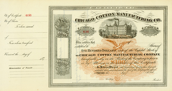 Chicago Cotton Manufacturing Co.
