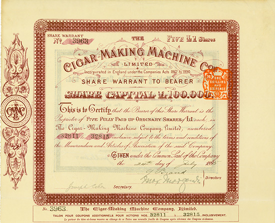 Cigar-Making Machine Co., Limited