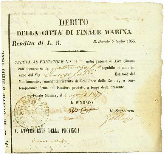 Citta di Finale Marina