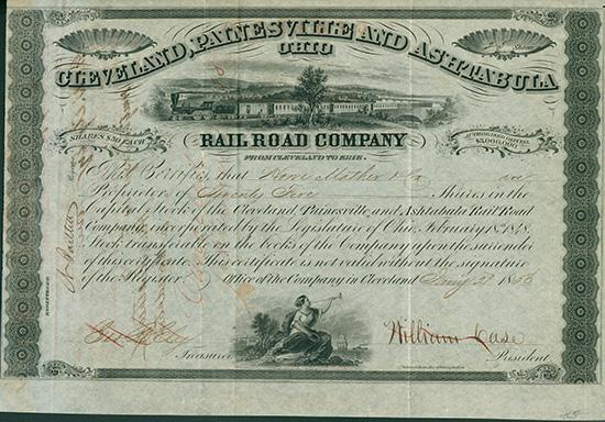 Cleveland, Painesville and Ashtabula Rail Road Company