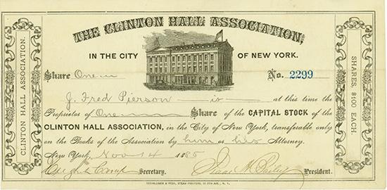 Clinton Hall Association