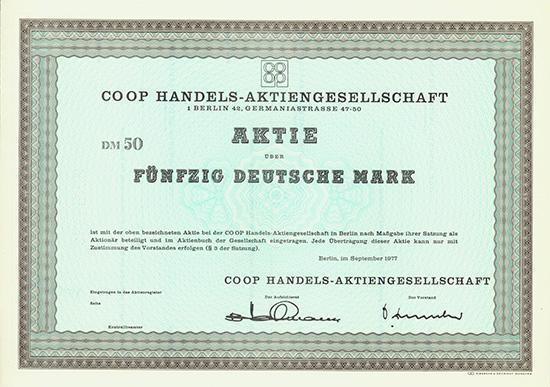 CO OP Handels-AG
