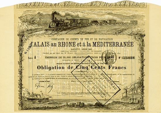 Compagnie de Chemin de Fer et de Navigation d'Alais au Rhone et a la Mediterranee
