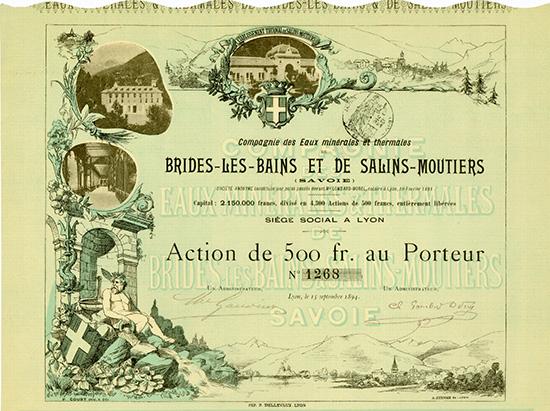 Compagnie des Eaux Minerales et Thermales Brides-les-Bains et de Salins-Moutiers (Savoie)