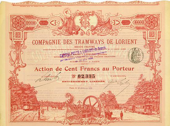 Compagnie des Tramways de Lorient S.A.