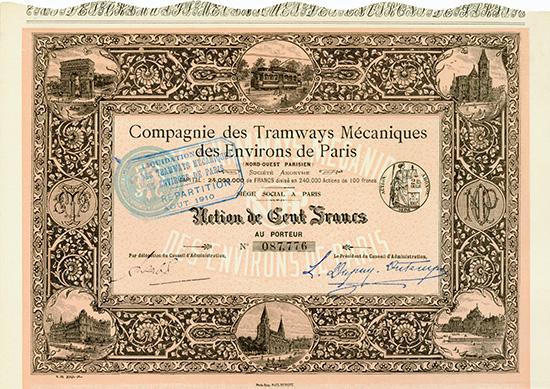 Compagnie des Tramways Mecaniques des Environs de Paris (Nord-Ouest Parisien) S.A.