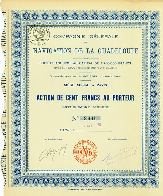Compagnie Generale de Navigation de la Guadeloupe