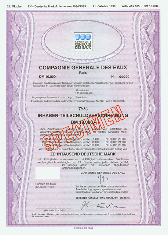 Compagnie Generale des Eaux