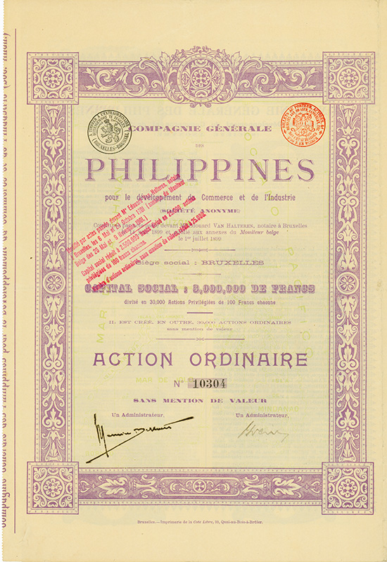 Compagnie Generale des Philippines pour le developpement du Commerce et de l'Industrie