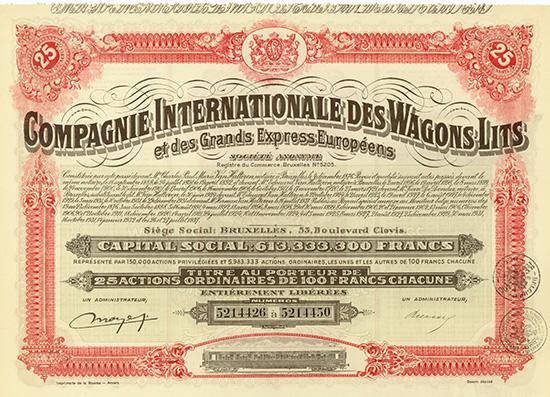 Compagnie Internationale des Wagons-Lits et des Grands Express Europeens S.A.