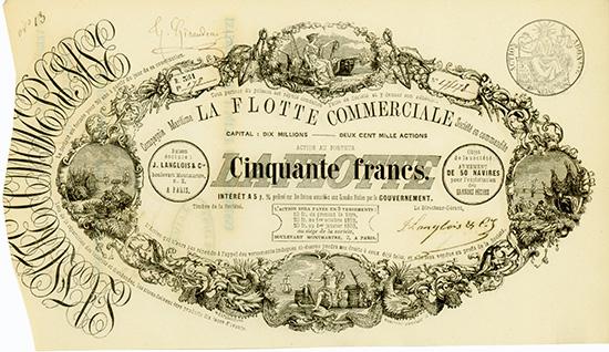Compagnie Maritime La Flotte Commerciale Societe en commandite
