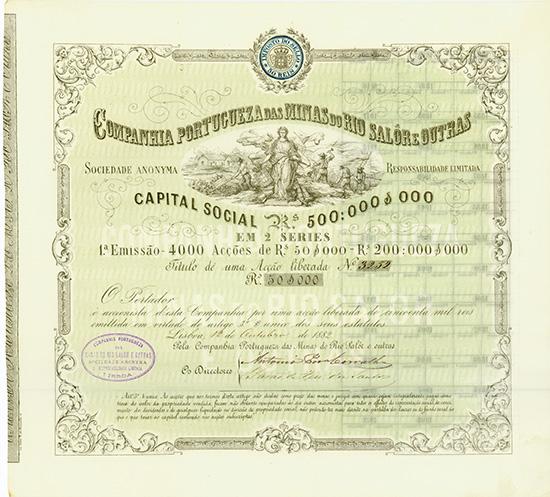 Companhia Portugueza das Minas do Rio Salor e Outras