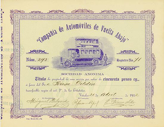 Compania de Automoviles de Vuelta Abajo
