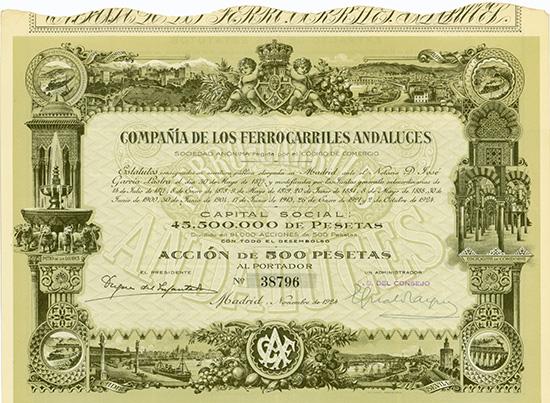 Compania de los Ferrocarriles Andaluces