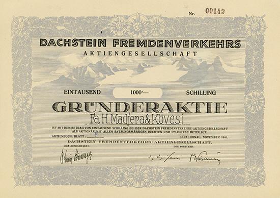 Dachstein Fremdenverkehrs-AG