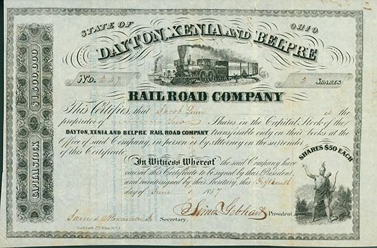 Dayton, Xenia and Belpre Rail Road Company