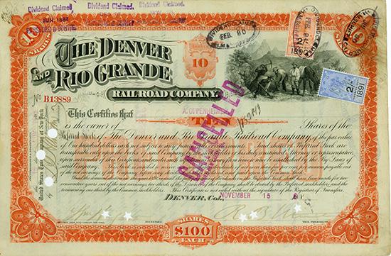 Denver and Rio Grande Railroad Company