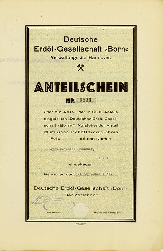 Deutsche Erdöl-Gesellschaft
