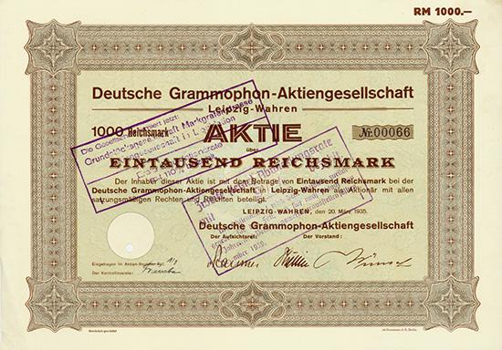 Deutsche Grammophon-AG