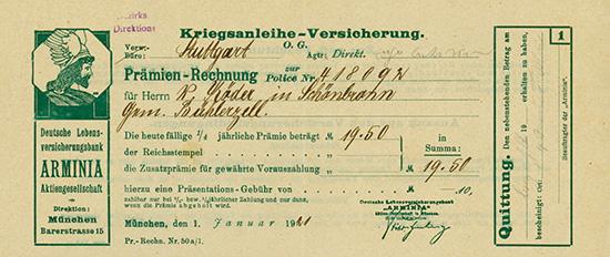Deutsche Lebensversicherungsbank ARMINIA AG
