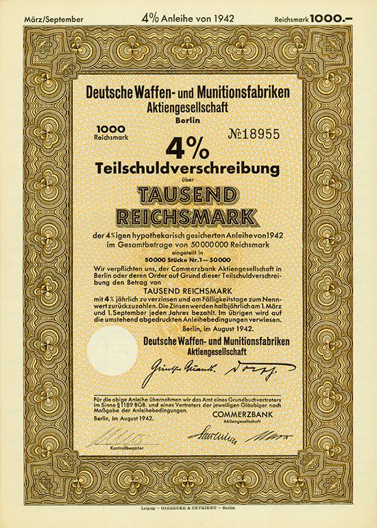 Deutsche Waffen- und Munitionsfabriken AG