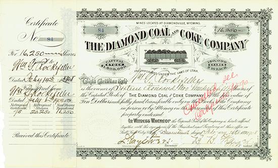 Diamond Coal and Coke Company