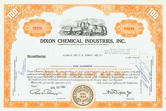 Dixon Chemical Industries, Inc.