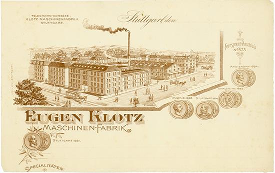 Eugen Klotz Maschinen-Fabrik
