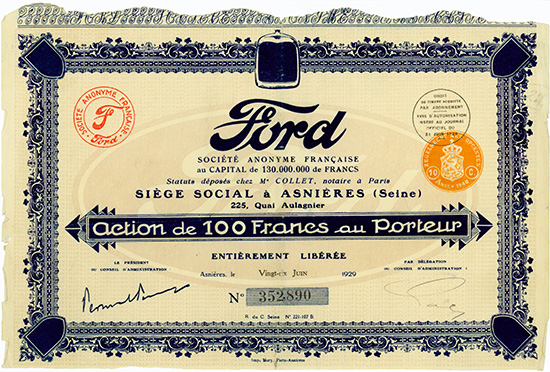 Ford S.A. Francaise