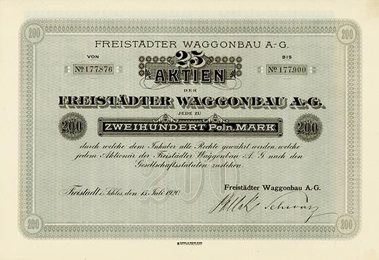 Freistädter Waggonbau AG