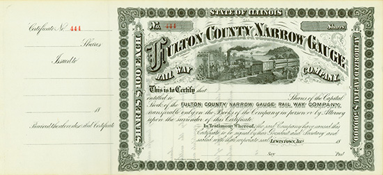 Fulton County Narrow Gauge Rail Way Company