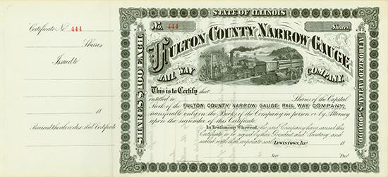 Fulton County Narrow Gauge Rail Way Company