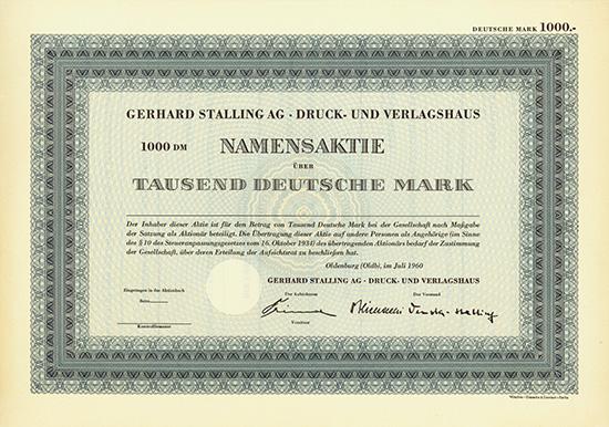 Gerhard Stalling AG Druck- und Verlagshaus