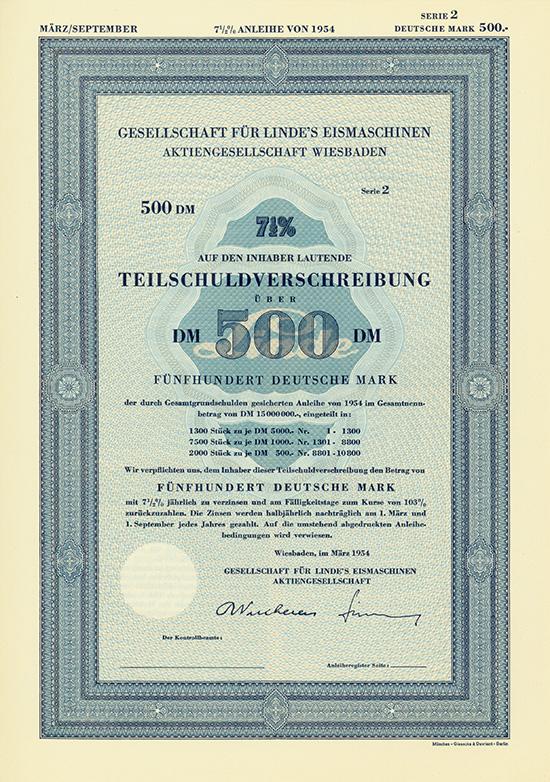 Gesellschaft für Linde's Eismaschinen AG