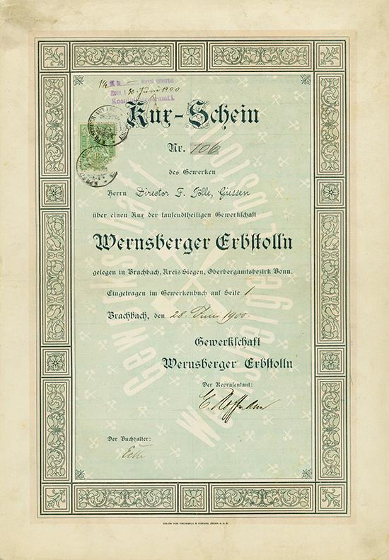 Gewerkschaft Wernsberger Erbstolln