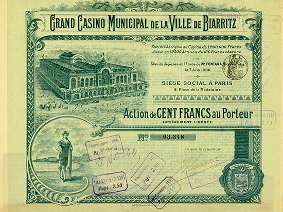 Grand Casino Municipal de la Ville de Biarritz