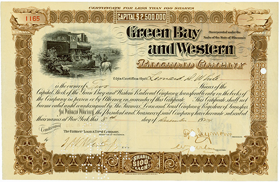 Green Bay and Western Railroad Company