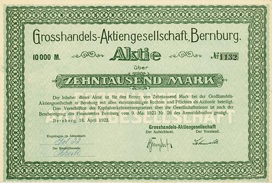Grosshandels-AG