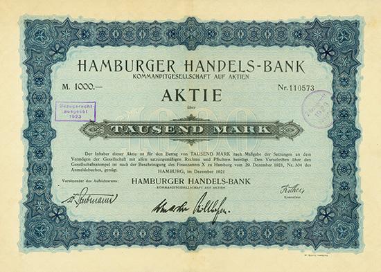 Hamburger Handels-Bank KGaA