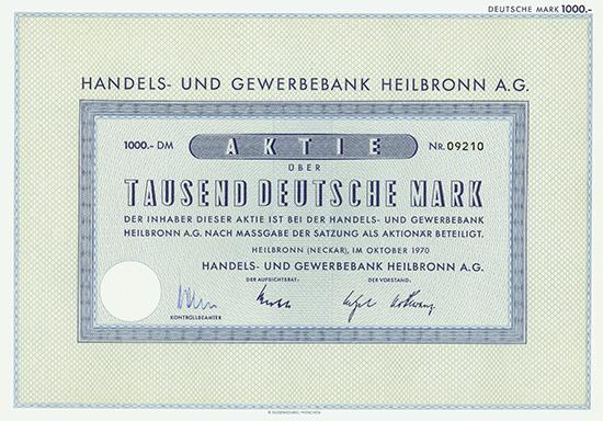 Handels- und Gewerbebank Heilbronn AG